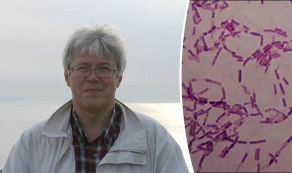 Mẫuvi khuẩn Bacillus F cổ đại được Anatoli Brouchkovtiêm trực tiếp vào chính cơ thể mình. (Ảnh: internet)