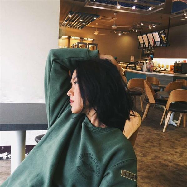 Ngoại hình xinhđẹp và cá tính của cô gái Hà Nộiđược nhiều người yêu mến.