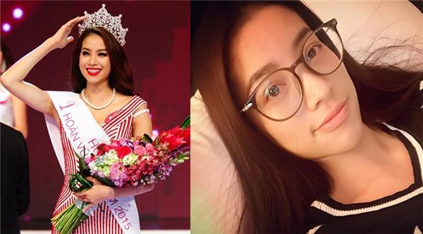 Hoa hậu Hoàn vũ Việt Nam 2015 Phạm Hương.
