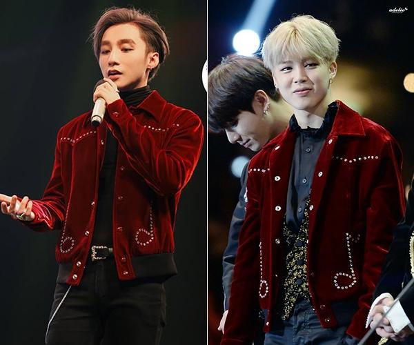 """Cứ tưởng hàng """"độc"""", Sơn Tùng lại đụng ngôi sao K-pop"""