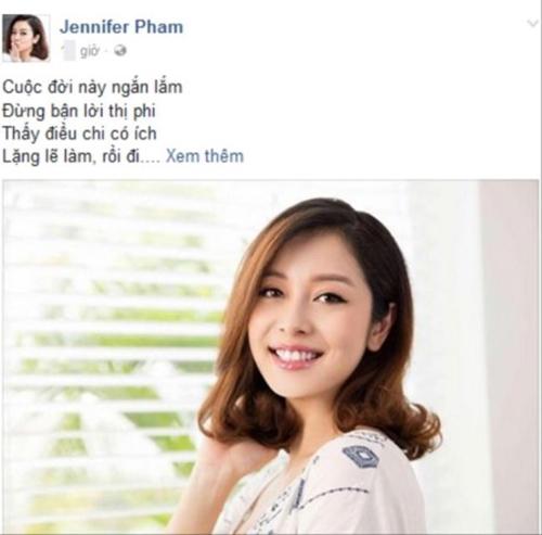 Jennifer Phạm mượn bài thơ để lên tiếng về scandal của chồng. - Tin sao Viet - Tin tuc sao Viet - Scandal sao Viet - Tin tuc cua Sao - Tin cua Sao