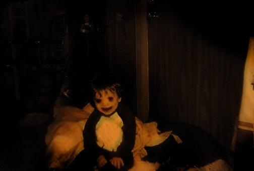 Bức ảnh thời thơ ấu.
