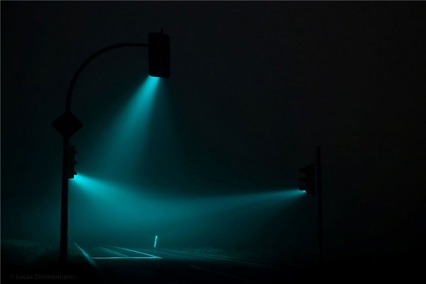 Đèn giao thông siêu ảo, siêu đẹp dưới ống kính của nhiếp ảnh gia