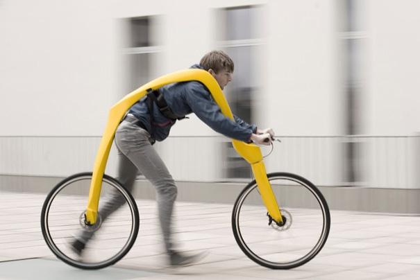 """Xe đạp chạy bằng động cơ """"căng hải"""" - Mọi thứ nằm trong tầm kiểm soát của bạn."""