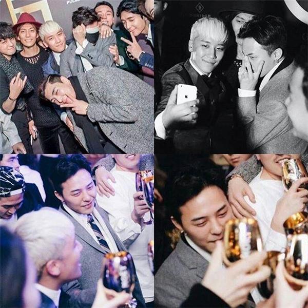Hàng loạt ngôi saođến tham dự bữa tiệc của Seungri.