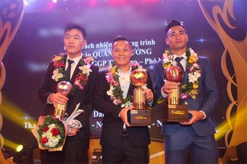 Đây là lần thứ tư trong sự nghiệp, cầu thủ Phạm Thành Lương đoạt được Quả bóng vàng Việt Nam. (Ảnh: internet)
