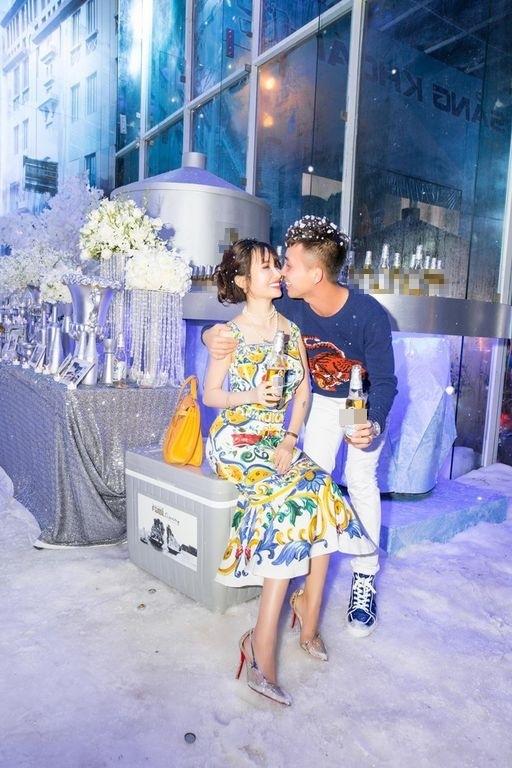 Sinh nhật hoành tráng với tuyết Bắc Cực của cặp đôi trẻ.(Ảnh: Internet)