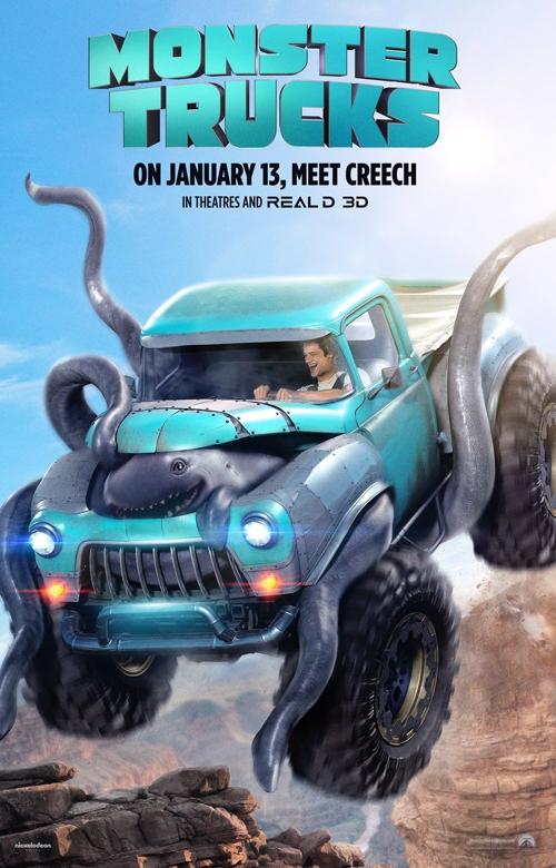 Poster phim Monster Trucks