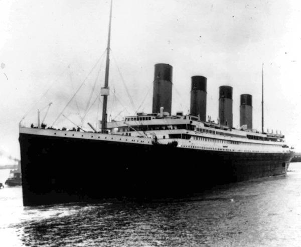 Tàu Titanic trước khi xảy ra thảm họa.