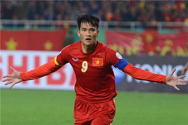 Tiền đạo Lê Công Vinh đã ghi 13 bàn thắng cho đội tuyển Việt Nam truong suốt năm 2016.