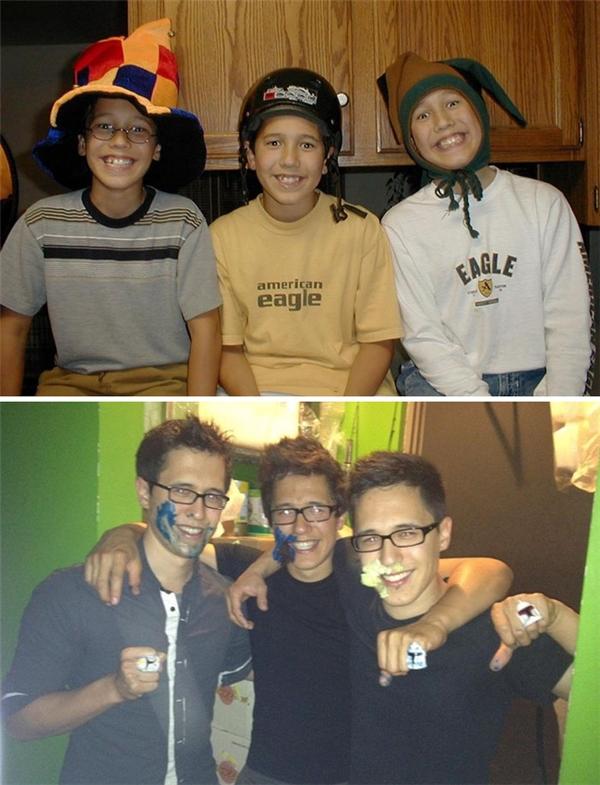 """Những chàng trai chúng tôi """"xua đuổi"""" năm ấy giờ đã trưởng thành và menly thế này đây."""