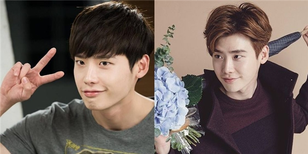 Chàng vịt cũng từng có thời ngố như thế đấy, chỉ cần thay đổi kiểu tóc một tí thôi thì Lee Jong Suk đã ngay lập tức lên đời nhan sắc.