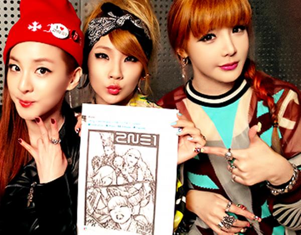 """Trong thời gian qua cộng đồng Blackjack """"đứng ngồi không yên"""" khi Park Bom nhấn """"like"""" một dòng trạng thái chia sẻ thông tin việc ba mẩu 2NE1 tái hợp với tên gọi mới XXI."""