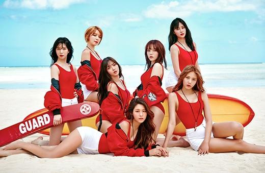 7 cô gái xinh đẹp của nhóm AOA.