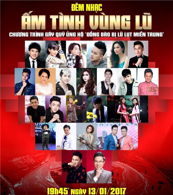Poster của đêm nhạc do Đan Trường vận động các nghệ sĩ để tổ chức. - Tin sao Viet - Tin tuc sao Viet - Scandal sao Viet - Tin tuc cua Sao - Tin cua Sao