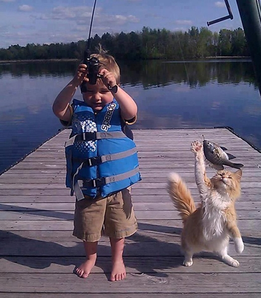 """Này thì """"cá cắn câu""""!"""