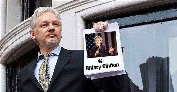 Julian Assange, nhà sáng lập của WikiLeaks.