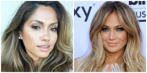 """Jennifer Lopez bất ngờ tìm được """"em gái thất lạc""""."""