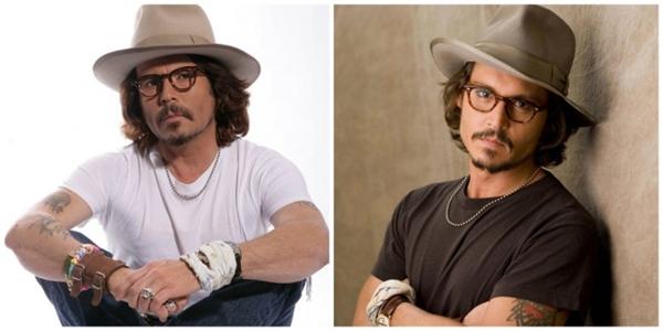 Không dễ gì mới tìm được bản sao củaJohnny Depp.