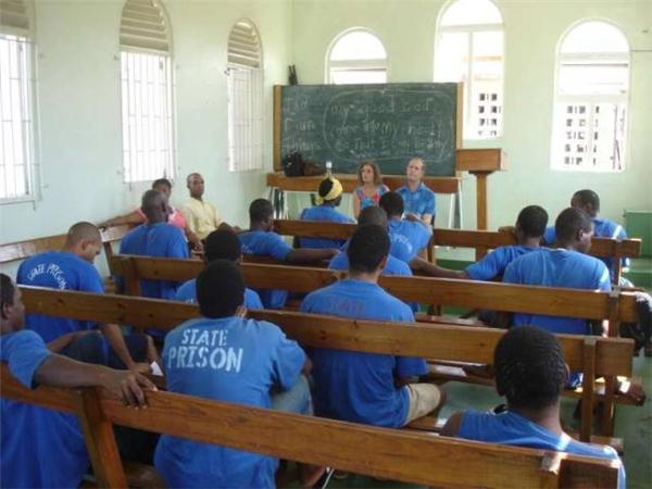 Giáo dục tù nhân tại Cộng hòa Dominica.