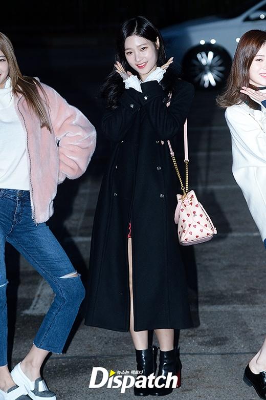 Ngược lại thìJung Chae Yeon của DIA vô cùngrạng rỡ.