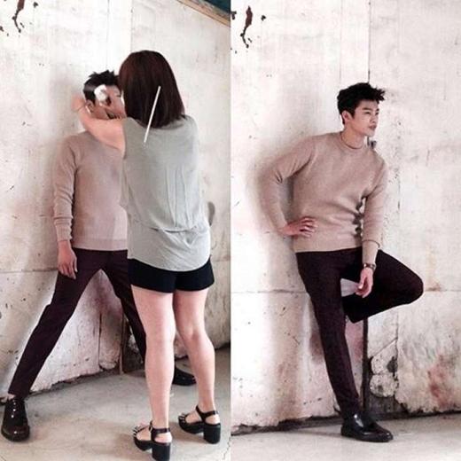 Quả thật Seo In Guk chính là ngôi sao quý ông. Anh chàng liên tục thể hiện sự ga lăng của mình với những đồng nghiệp nữ xung quanh.