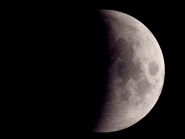 Sự kiện Nguyệt thực nửa tối trong năm nay có thể bắt đầu từ 5h34 ngày 11/02.