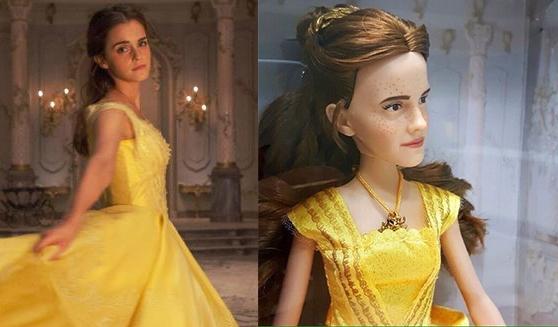 Tranh cãi vì búp bê người đẹp Emma Watson giống hệt Justin Bieber
