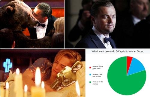 Leo đã bị chế quá nhiều ảnh về việc lỡ giải Oscar rồi, nên đó là lí do tôi muốn anh ấy thắng lần đề cử này.