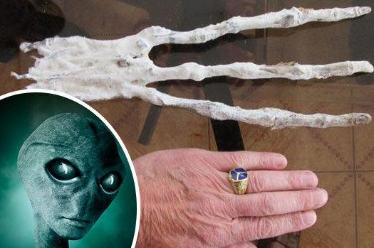 Liệu đây có phải bàn tay thuộc về người ngoài hành tinh?