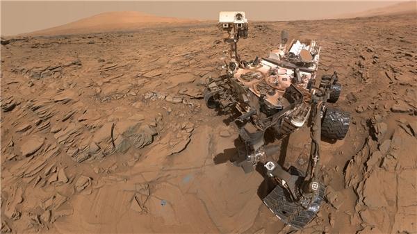 Mẫu xe tự hànhCuriosity của NASA. (Ảnh: internet)