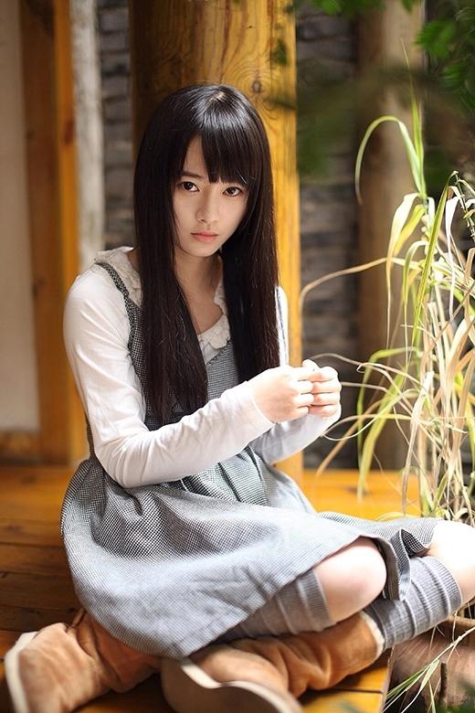 """Vẻ đẹp """"đằm thắm"""" của cô gái Tịnh Y khiến người khác say đắm."""