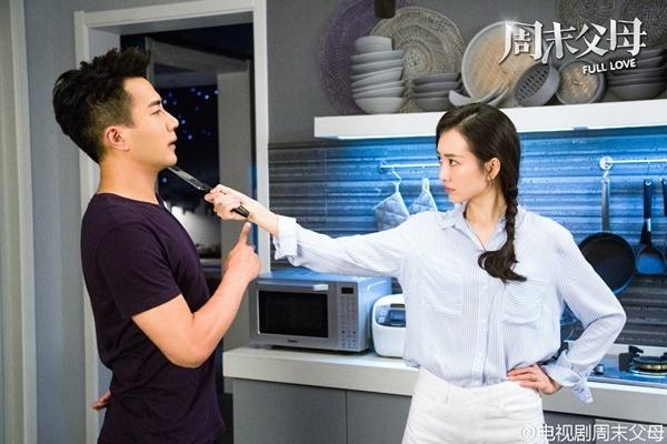 Bộ phim Cha mẹ cuối tuần với sự tham gia của Lưu Khải Uy và Vương Âucũng sẽphát sóng vào đầu tháng 2, đối đầu trực tiếp với phim của Dương Mịch.