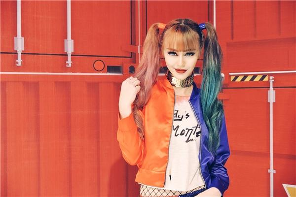 MLee hóa cô nàng điên loạn Harley Quinn, tình tứ bên S.T - Tin sao Viet - Tin tuc sao Viet - Scandal sao Viet - Tin tuc cua Sao - Tin cua Sao