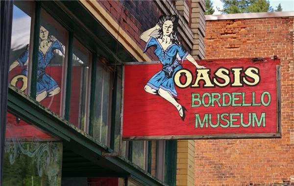 Đây là bảo tàng nhà thổ độc đáo nhất nước Mĩ.