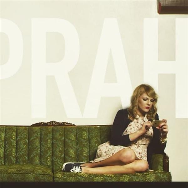 """Keitra Jane - cô gái được cho là """"bản sao"""" hoàn hảo nhất của Taylor Swift.(Ảnh: Instagram)"""