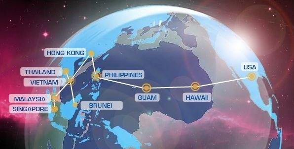 Cáp quang biển AAG gặp sự cố lần đầu tiên trong năm 2017. (Ảnh: internet)