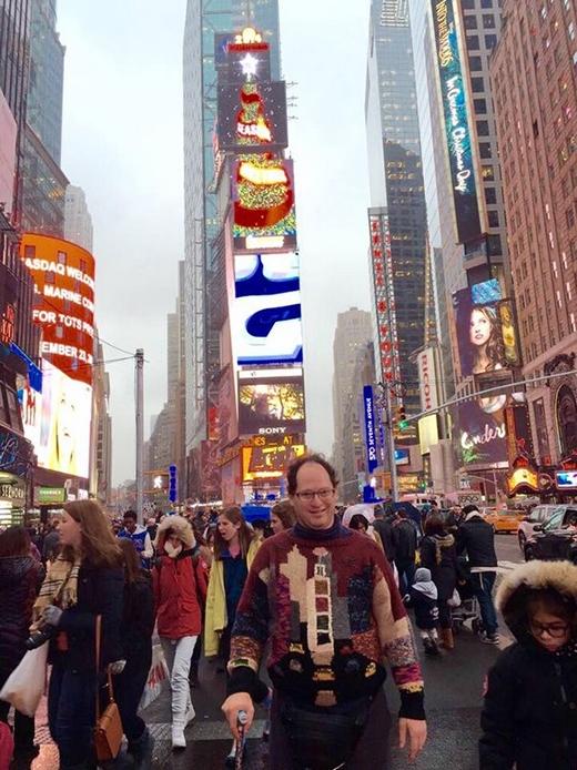 đến Quảng trường Thời Đại New York (Mỹ)