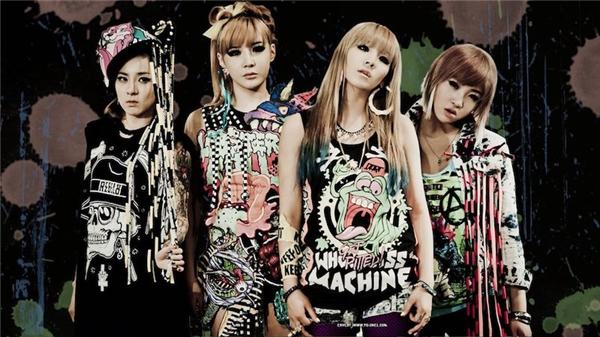 2NE1 - 9,4 triệu lượt theo dõi.