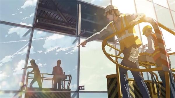 Quá trình xây dựng ga hành khách T2, những hình ảnh về sân bay mang đẳng cấp quốc tế được khắc họa hoàn hảo qua từng nét vẽ đậm chất Makoto.