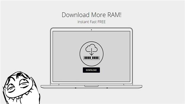 Một trang web khác cũng là dạng cho tải thêm RAM.