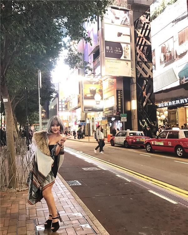 Cô nàng 9X xinh đẹp, rạng rỡ tại Đài Loan.(Ảnh: Internet)