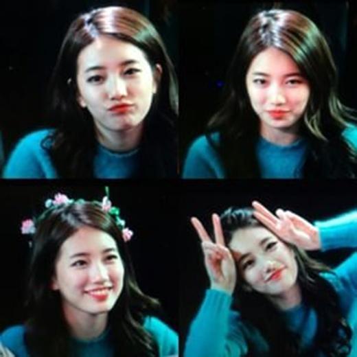 Những bức ảnh chất lượng thấp nhưng lại đang gây sốt của Suzy.