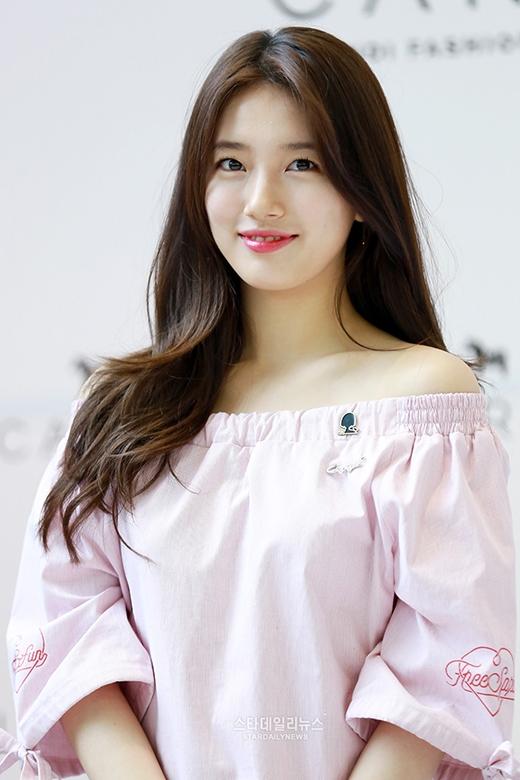 Bất chấp ảnh kém chất lượng, Suzy vẫn gây sốt vì đẹp hoàn hảo