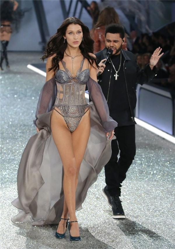 The Weeknd là tình cũ của siêu mẫu Bella Hadid.