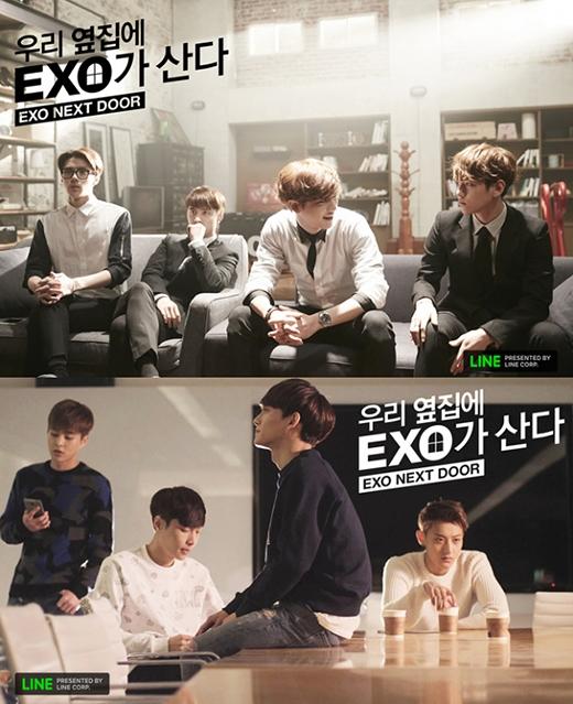 Đơn cử là bộ phimEXO Next Door (Hàng Xóm Tôi Là EXO) là sản phẩm quảng bá thương hiệu dưới dạng web-drama nên chỉ có fan xem.