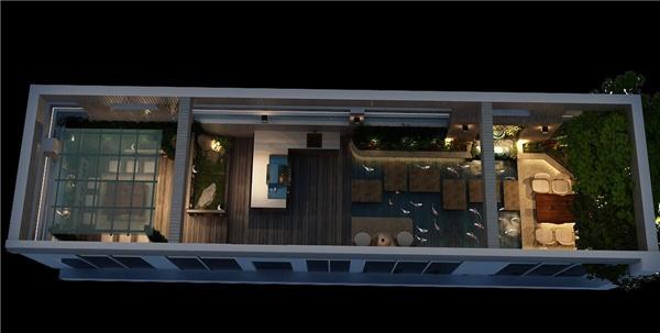 Hình ảnh căn penthouse của Hoa hậu Thu Hoài chụp từ trên xuống. - Tin sao Viet - Tin tuc sao Viet - Scandal sao Viet - Tin tuc cua Sao - Tin cua Sao