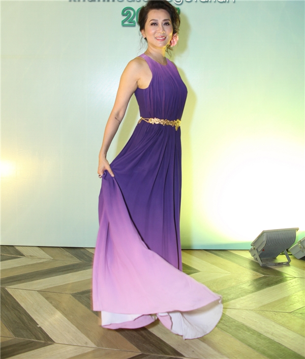MC Kỳ Duyên diện váy xẻ cao đầy quyến rũ. - Tin sao Viet - Tin tuc sao Viet - Scandal sao Viet - Tin tuc cua Sao - Tin cua Sao