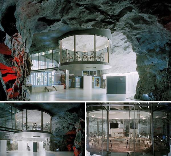 Trung tâm dữ liệu Pionen White Mountain – Stockholm, Thụy Điển. (Ảnh: internet)