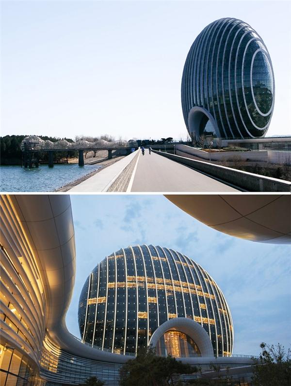 Khách sạn Sunrise Kempinski, Bắc Kinh, Trung Quốc. (Ảnh: internet)